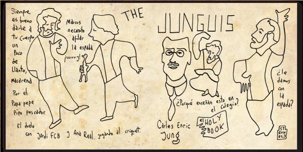 The Junguis by Pedro Strukelj